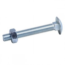 Coach Bolts Bright Zinc Plated