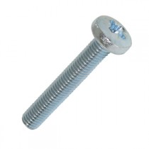 Pan Pozi Machine Screw Bright Zinc Plated