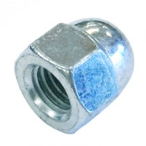 Dome Nut Bright Zinc Plated