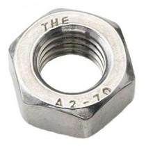 Hex Full Nut Stainless Steel A2