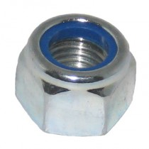 Hex Nyloc Nut Type P Bright Zinc Plated