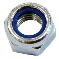 Hex Nyloc Nut Type T Bright Zinc Plated