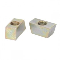 Vee Wedge Nut Mild Steel Zinc Plated