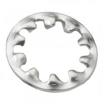 Internal Tooth Shakeproof Washer Bright Zinc Plated