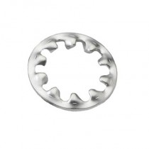 Internal Tooth Shakeproof Washers Bright Zinc Plated