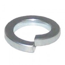Square Section Spring Washer Bright Zinc Plated