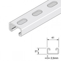 Unistrut Shallow Slotted Channel