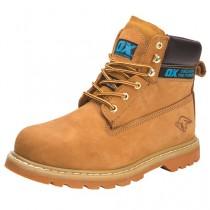 OX Honey Nubuck Safety Boots
