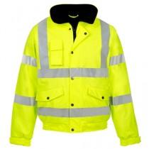 Hi Visibility Yellow Bomber Jackets