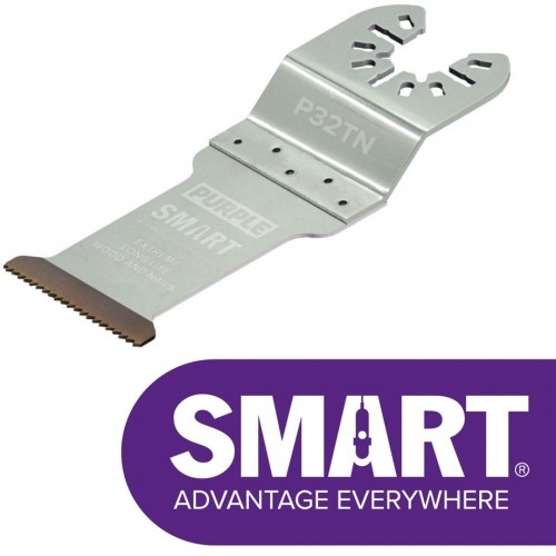 Smart Purple Series Long Life Titanium Bi-Metal Multi-Tool Blades