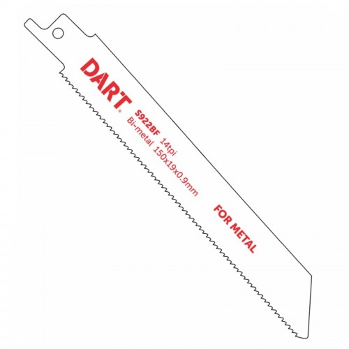 Dart Reciprocating Saw Blades for Metal