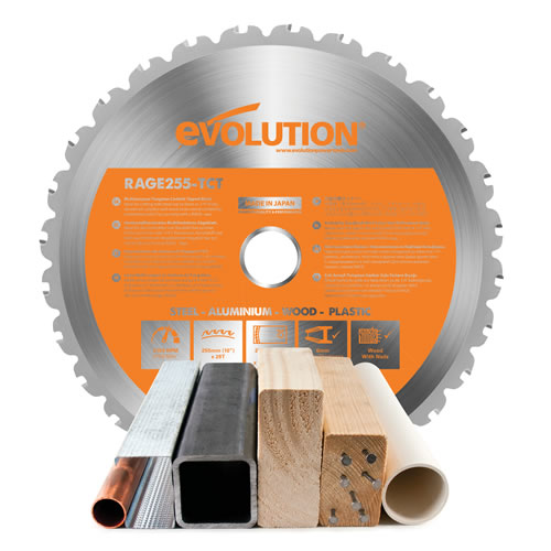 Evolution Rage Saw Blades