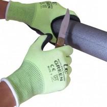 Kutlass PU500G Green PU Safety Gloves