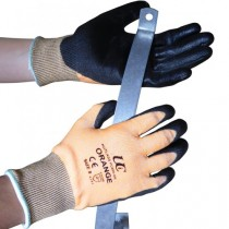 Kutlass PU300-OR Orange PU Safety Gloves