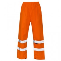 Hi Visibility Class 1 Orange Trousers
