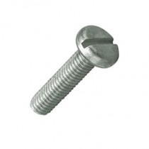 Pan Slot Machine Screw Bright Zinc Plated