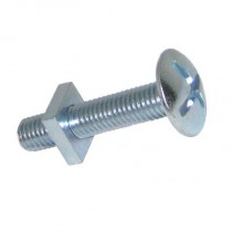 Roofing Bolts & Nuts Bright Zinc Plated