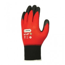 Skytec Beta 1 Nitrile Foam Palm Gloves Red