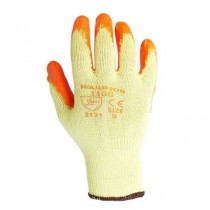 Warrior Grip Orange Builders Safety Gloves