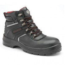 Zephyr ZX40 Black Waterproof Technical Safety Hiker Boots