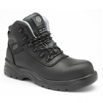 Zephyr ZX50 Black Leather Full Grain Composite Safety Boots