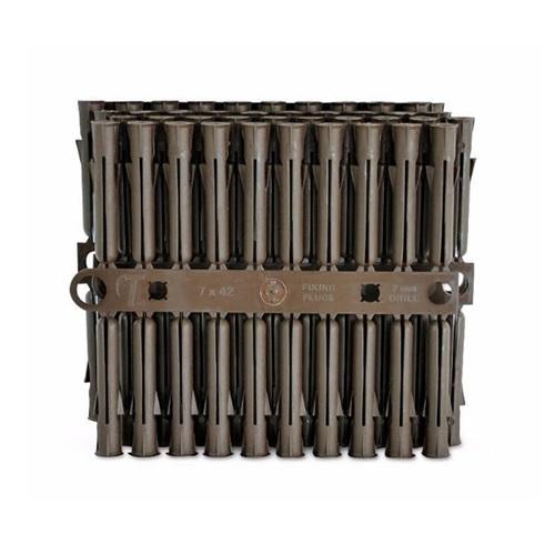 Talon Brown Plastic Plugs 7.0mm