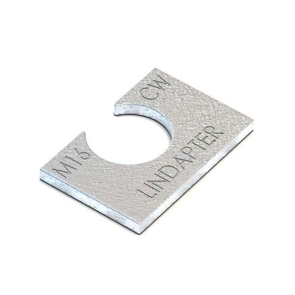 Lindapter M16 Type CW Clipped Washer