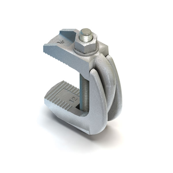 Lindapter M10 Type F9 Flange Clamp With Bolt