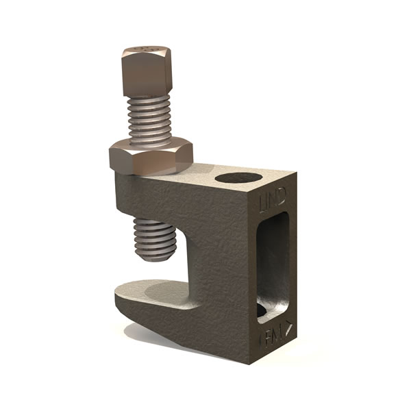 Lindapter M6 Type FL Flange Clamp