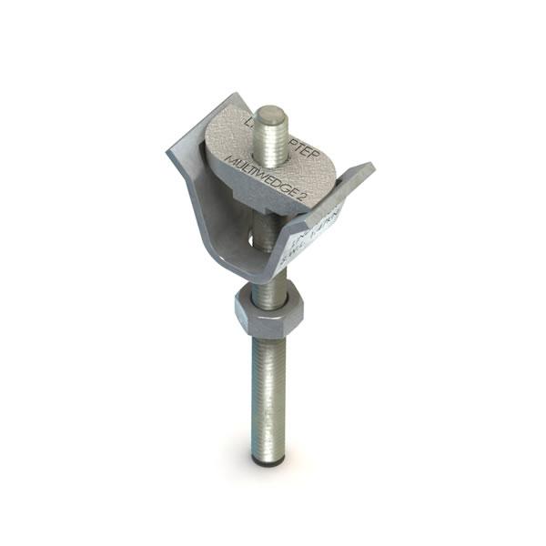 Lindapter M8 Type MW2 Multiwedge Bright Zinc