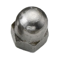 M3 Dome Nut Stainless Steel A2 (304)