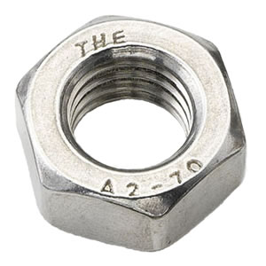 M3 Full Nut Stainless Steel A2 (304)