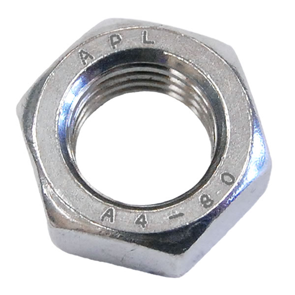M3 Full Nut Stainless Steel A4 (316)
