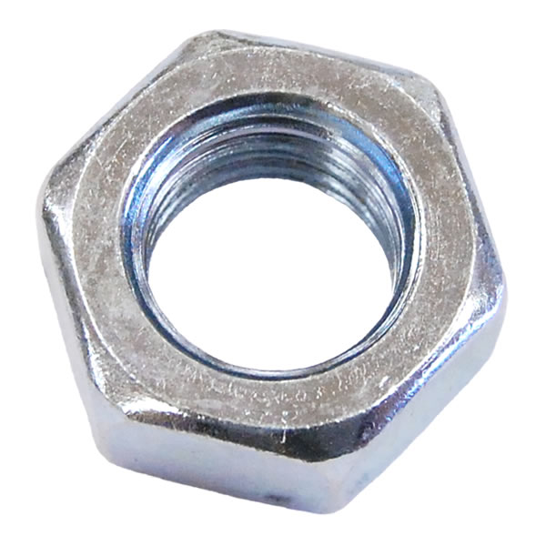 M10 Full Nut Grade 8 Bright Zinc Plated