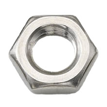 M4 Lock Nut Stainless Steel A2 (304) DIN 439