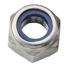 M8 Nylon Insert Nut Stainless Steel