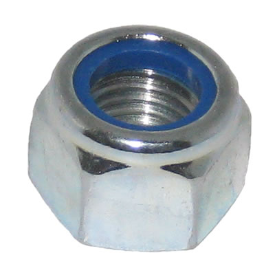 M8 Type P Nylon Insert Nut Grade 8