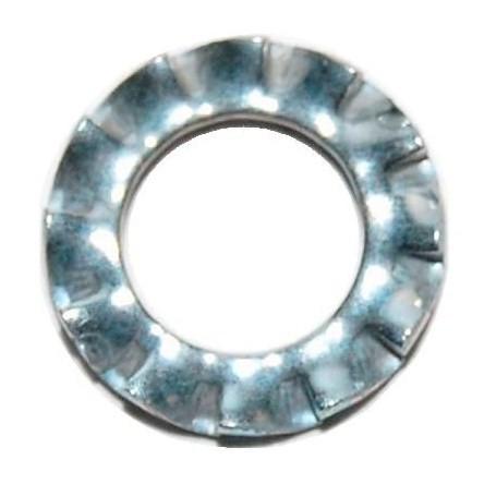 M20 External Serrated Lock Washer Mild Steel