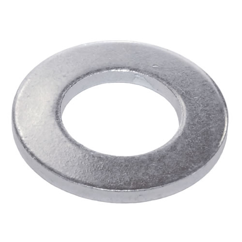 M4 Form A Flat Washer Mild Steel Bright Zinc