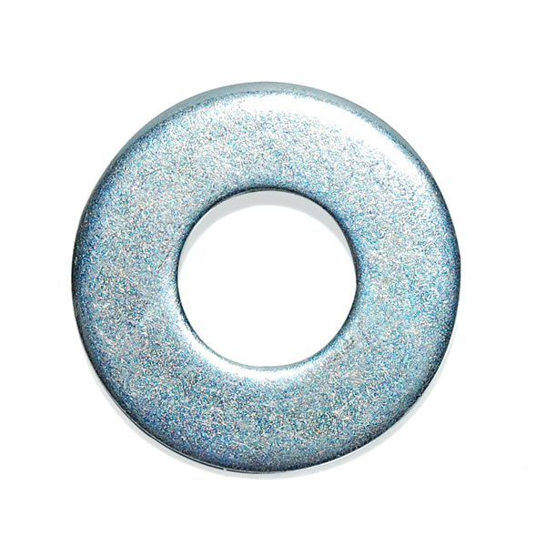 M6 Form C Flat Washer Mild Steel Bright Zinc