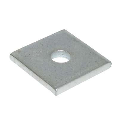 M10 x 40 x 40 x 3mm Square Plate Washer