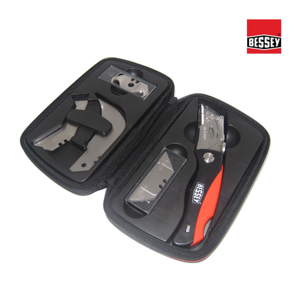 Bessey Folding Knife Set in Carry Case