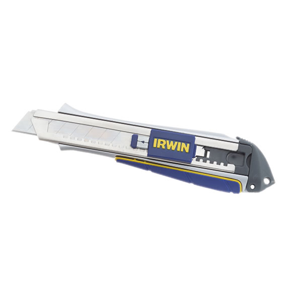 Irwin Pro-Touch 18mm Snap Off Blade Knife