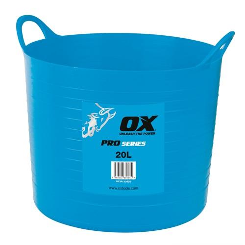 OX Pro Heavy Duty 20L Flexi Tub