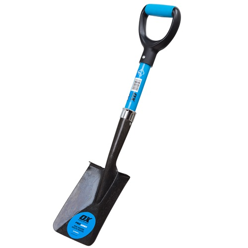 OX Pro Mini Square Mouth Shovel