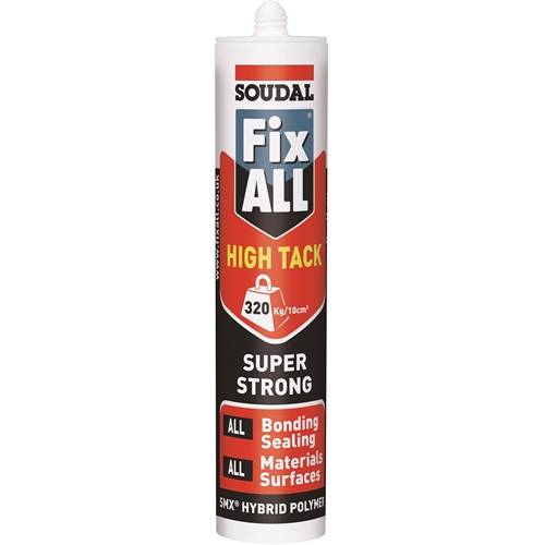 Soudal Fix All Seals And Bonds High Tack