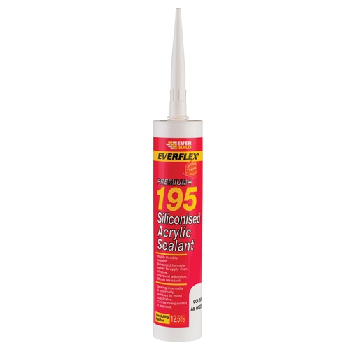 Siliconised Acrylic Sealant 195