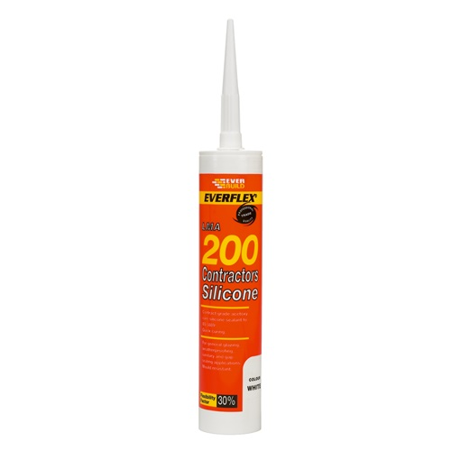 Contractors Silicone Sealant 200 Black