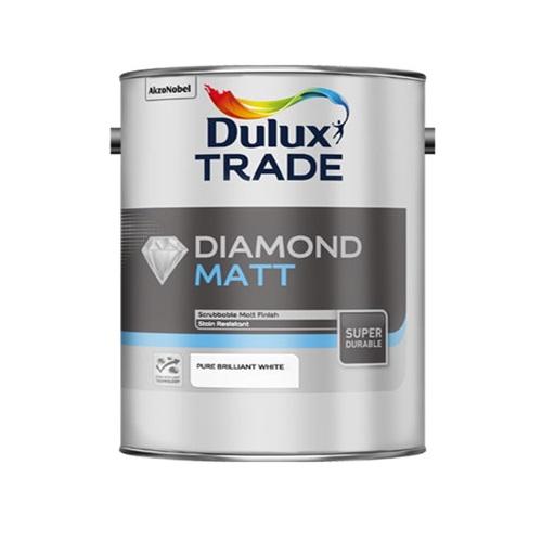 Dulux Diamond Matt Vinyl Pure Brilliant