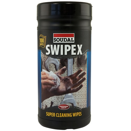 Soudal Swipex Hand Wipes - Tub of 100